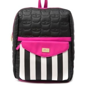 Luv Betsey by Betsey Johnson lexi print backpack